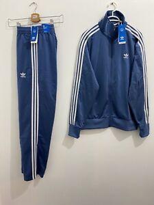 Adidas Originals Adicolor Classics Firebird Tracksuit Crew Blue White Size XL
