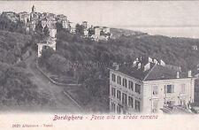 BORDIGHERA - Paese Alto e Strada Romana