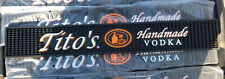 Tito'S Handmade Vodka Bar Rail Mat New - Man cave Bar!