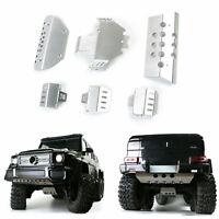 Châssis Armor Protection Metal Guard Plate pour 1/10 Traxxas TRX6 G63 RC Car FR