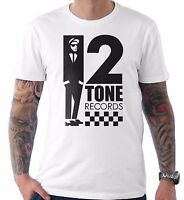 2 Tone Records Two Ska Reggae Rude Boy Specials Selecter Madness Beat T Shirt