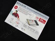 Neu Einzelhandel Box Belkin F5D7010ef Kabellos G 54Mbps Notebook Netzwerk Karte