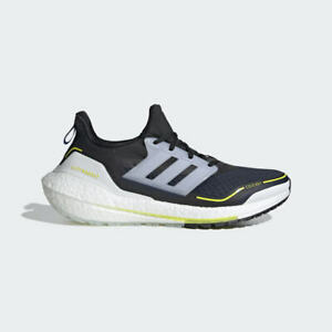 adidas Men's Ultraboost 21 COLD.RDY Shoes Navy / White / Yellow