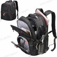 Waterproof Travel Bag Laptop Backpack Computer Notebook USB School Bag