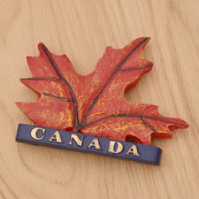 Canada Maple Leaf 3D Fridge Magnet Refrigerator Magnetic Sticker Travel Souvenir