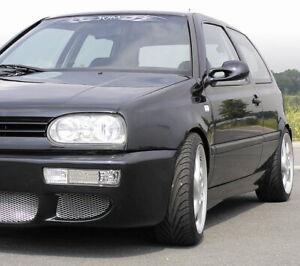SIDE SKIRT PAIR 2 SKIRTS SET by JOM for VW GOLF JETTA 1993 -1999 VENTO MK3 - NEW