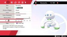 Pokemon Darumacho GALAR shiny 6IV + masterball - Battle Ready - Epée/Bouclier