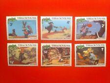 "Turks & Caicos 1981 Walt Disney ""Uncle Remus"" Set Of 6 Stamps Mnh"