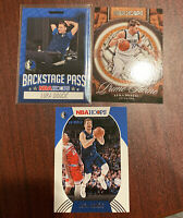 2020 Nba Hoops Luka Doncic 3 Card Lot Backstage Pass, Prime Twine And Base Mavs
