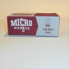 Micro Models GB  9 Holden Taxi (48-215 / FX) empty Reproduction box