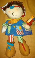 NEW with Tags Manhattan Toy Co Learn-to-Dress Pirate Activity Toy AWARD Winning!