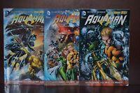 Geoff Johns Aquaman Graphic Novels Volume 1-3 - DC Comics
