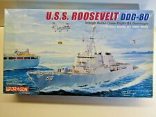 Dragon 1:700 Scale U.S.S. Roosevelt DDG-80 Destroyer Model Kit - New - Kit #7039