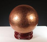 "50mm (2"") NATIVE COPPER Sphere Ball Keweenaw Peninsula, Michigan Natural *2650"