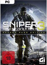 Sniper Ghost Warrior 3 III + Season Pass Steam CD Key PC Download Code DE/EU NEU