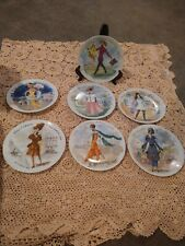 Henry Dargeau Limoges Plates Lot of 7