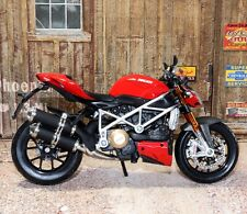 Maisto Ducati Mod Streetfighter S 1:12 Scale Die-cast Metal Model Toy Motorcycle