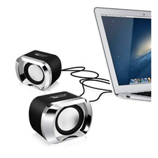 PC Computer Speakers Portable Mini USB Small Stereo Sound TV Laptop Audio