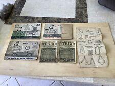 Trix Manuals from 1940-50s.Interesting lot.