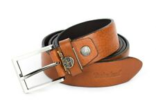Belt in real leather TIMBERLAND M4181 Cognac 212 Made in Italy