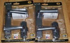 Lot of 4 Wright SLATE Decorative Surface Mount Storm Door Replacement Handlesets