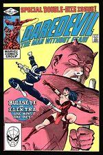 Daredevil #181 Bullseye kills Elektra, Frank Miller, Fine +