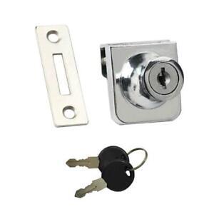 Zinc Alloy Lock Glass Display Cabinet Showcase for 5-8mm Glass Door Sale
