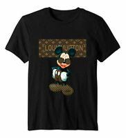 New Fashion Men 2020 Disne 1Mickey Mous Graphic T-Shirt Cotton S-5XL Tee Trendin