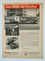 Hayden Proffitt Grant Rebel SST 1968 Grant Piston Rings Print Ad