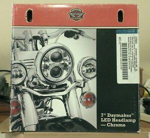 """NEW Harley-Davidson Daymaker 7"""" LED Head Lamp Light OEM P/N 67700243 Multi-Fit"""