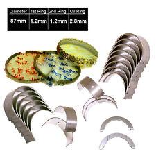 Piston Rings & Main Rod Engine Bearings 97-01 Honda Prelude Si 2.2L H22A4 VTec