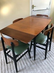 Office Cabin Interior Design, 1950s Table In Table Chair Sets For Sale Ebay