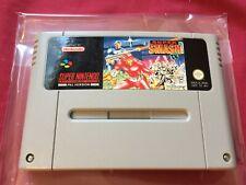 SNES PAL SUPER SMASH T.V. 1992 Super Nintendo FREE POSTAGE worldwide
