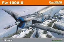 El aclaramiento EDK70111-Eduard Profipack-FW 190A-8 Kits 1:72