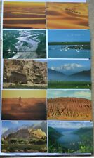 Set of 10 Chinese pre-stamped postcards (FP5, 1997 A) landscape scenes China