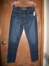 American Eagle Dark Wash Vintage Hi-rise Button Fly Jeans Size 2 Ret