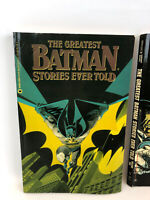 DC The Greatest Batman Stories Ever Told & The Companion Volume (2) Softcover
