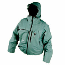 CLIMB 8 MENS MOY WADING FISHING JACKET WATERPROOF BREATHABLE GREEN