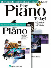 PLAY PIANO TODAY BEGINNER LESSON BOOK + CD + DVD NEW