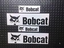4 PACK BOBCAT STICKERS / DECALS MINI DIGGER / EXCAVATOR