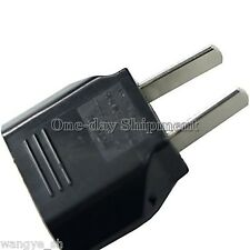 EU to US Round Plug to Flat Plug Power Convertor / Adapter for AC Charger