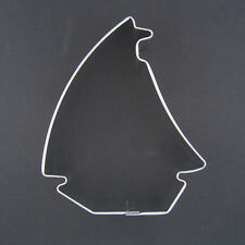 """SAILBOAT 3.5"""" METAL COOKIE CUTTER NAUTICAL BOAT THEME PARTY FAVOR SUMMER NEW"""