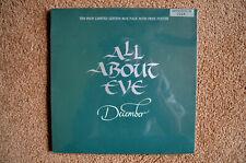 """All About Eve U.K. Ltd. 10"""" & Poster """"December"""" Phonogram (Evenb11), Sealed"""