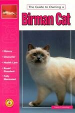 The Guide to Owning a Birman Cat by Commings, Karen Paperback Book The Fast Free