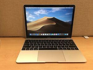 Apple MacBook 12'' 1.2GHz Core M3, 8GB Ram, 256GB SSD, Year 2017 (M11)