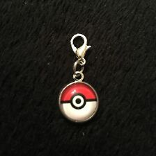 Pokemon Bracelet Charm Clip Pokeball Ball Go Zip Bag Clasp Pet Collar Pikachu UK