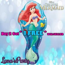 ❤  Ariel The Little Mermaid Birthday Balloon Balloons Disney's princess party