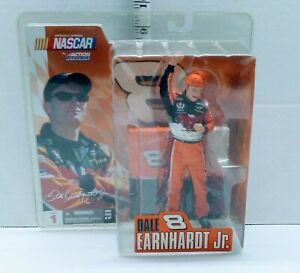 NASCAR Dale Earnahrt Junior Action Figure by Action McFarlane Series 1 NEW 2003