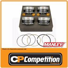 Manley Forged Piston & Rings Fits Subaru WRX EJ25 99.5mm Bore / 75mm Stroke -6cc