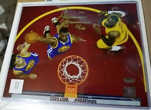HARRISON BARNES Signed Golden State Warriors NBA Finals 8x10 Photo with COA